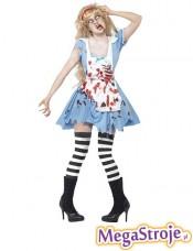 Kostium Alicja zombie