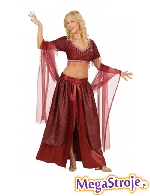 Kostium Arabska Tancerka czerwona