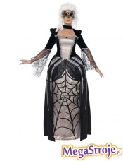 Kostium Barokowa Czarna Wdowa