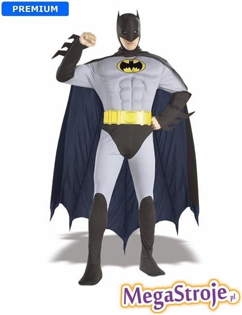 Kostium Batman szary deluxe