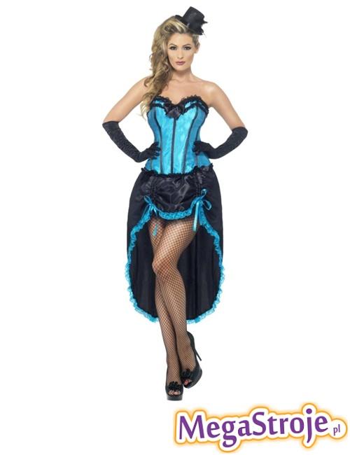 Kostium Burleska niebieska