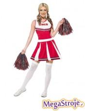 Kostium Cheerleaderka czerwona