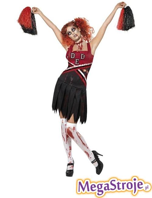 Kostium Cheerleaderka zombie