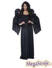Kostium Cmentarny Anioł czarny