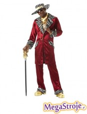Kostium Daddy Cool czerwony