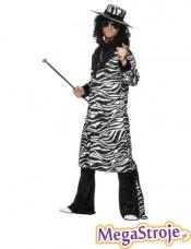 Kostium Daddy Cool zebra
