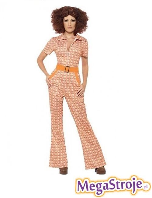 Kostium damski lata 70.