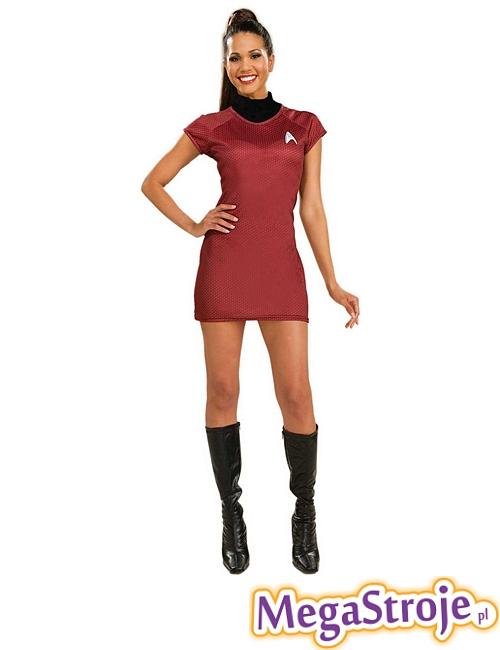 Kostium damski Star Trek czerwony