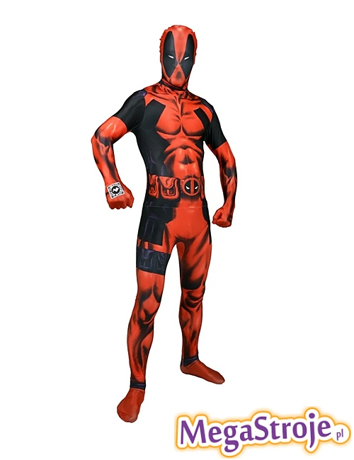 Kostium Deadpool Second Skin