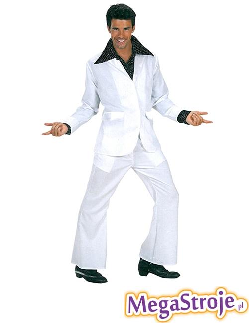 Kostium Disco Boy biały