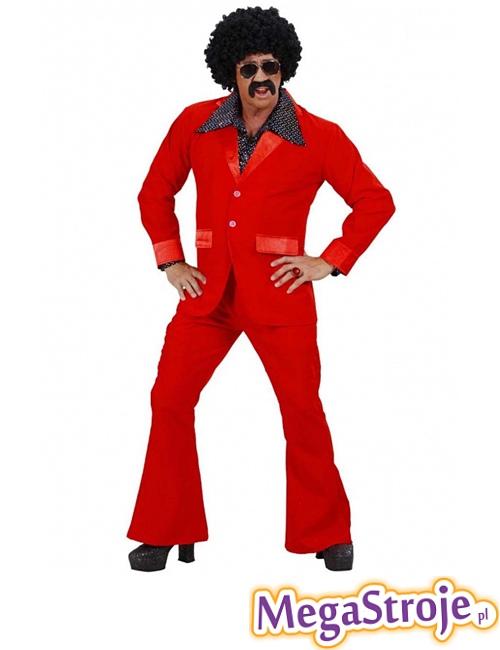 Kostium Disco Boy czerwony