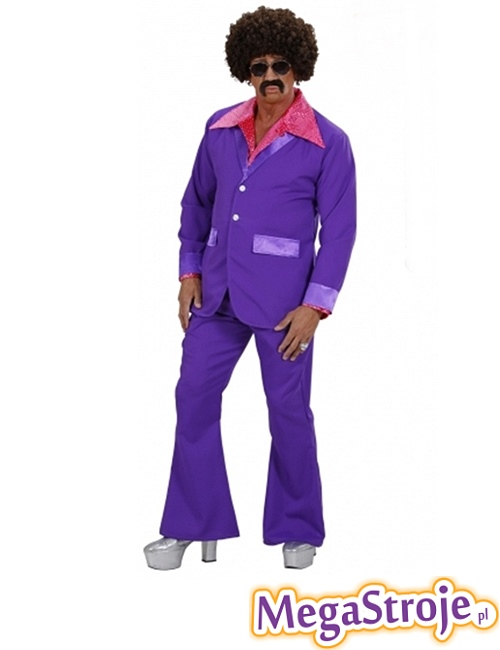 Kostium Disco Boy fioletowy