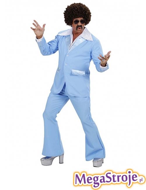 Kostium Disco Boy niebieski