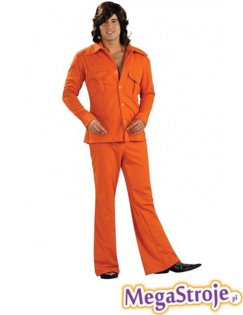 Kostium Disco Boy pomarańczowy