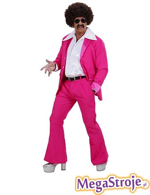 Kostium Disco Boy różowy