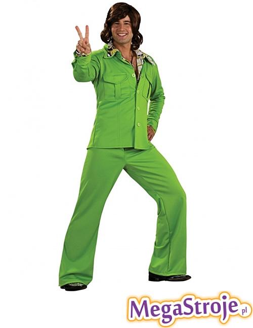 Kostium Disco Boy zielony