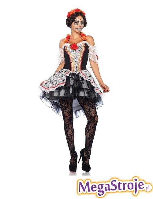 Kostium Diva z Meksyku Dia de los Muertos