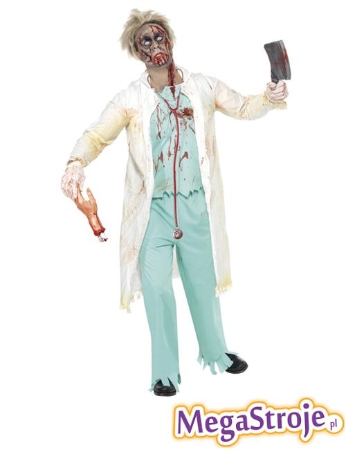 Kostium Doktor zombie