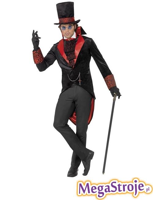 Kostium Dracula czarny