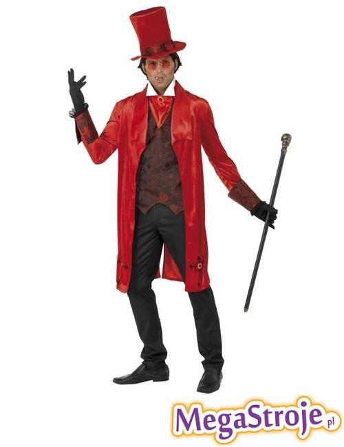 Kostium Dracula czerwony