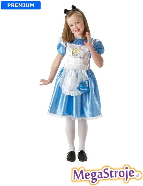 Kostium dziecięcy Alicja w Krainie Czarów deluxe