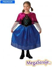 Kostium dziecięcy Anna lux - Kraina Lodu