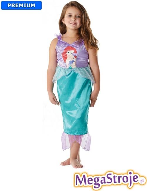 Kostium dziecięcy Arielka Disney