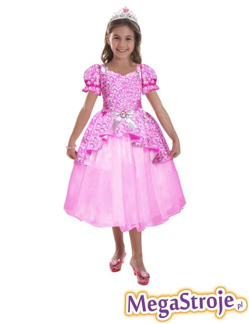 Kostium dziecięcy Barbie różowa