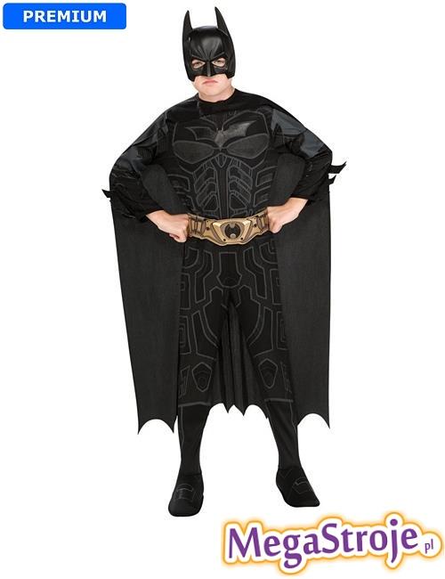 Kostium dziecięcy Batman czarny