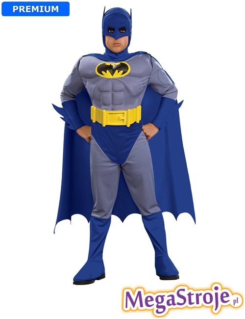 Kostium dziecięcy Batman niebieski