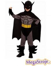 Kostium dziecięcy Batman szary