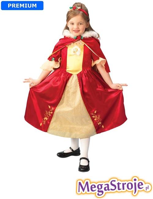 Kostium dziecięcy Bella Disney czerwona