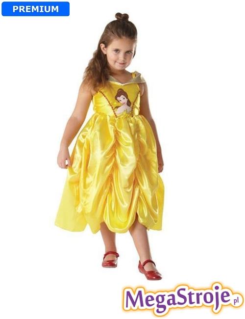 Kostium dziecięcy Bella Disney złota