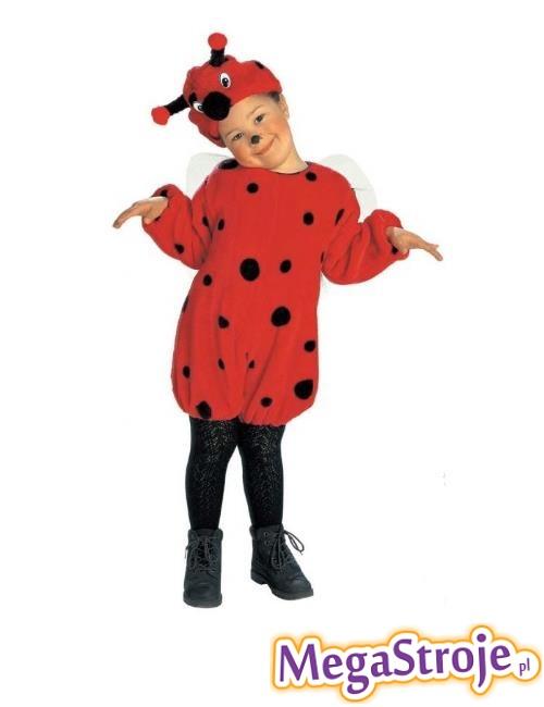 Kostium dziecięcy pluszowy Biedronki