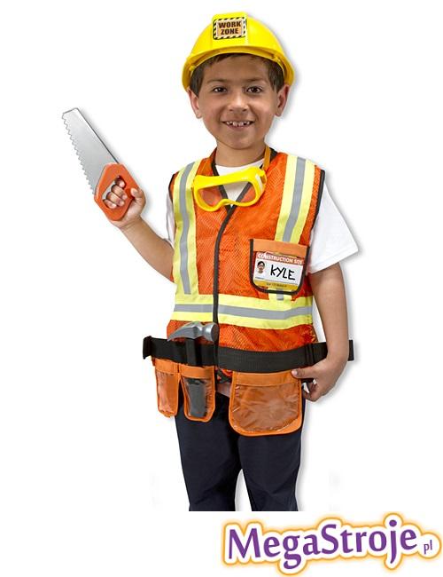 Kostium dziecięcy Budowlaniec