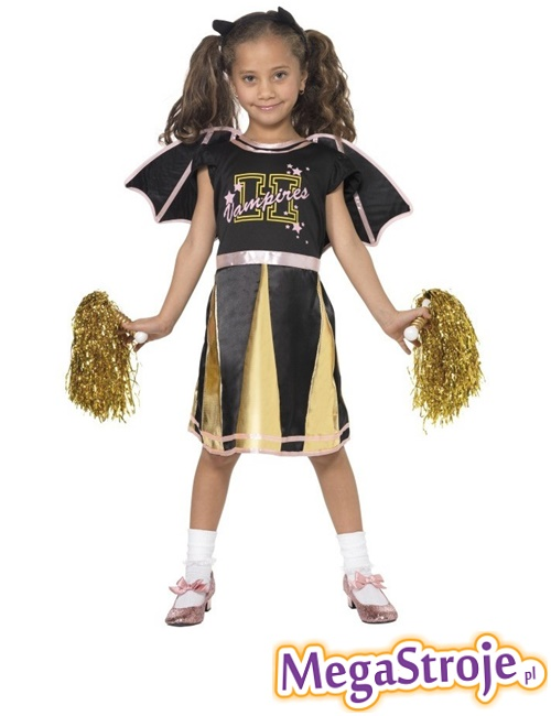 Kostium dziecięcy Cheerleaderka Nietoperz