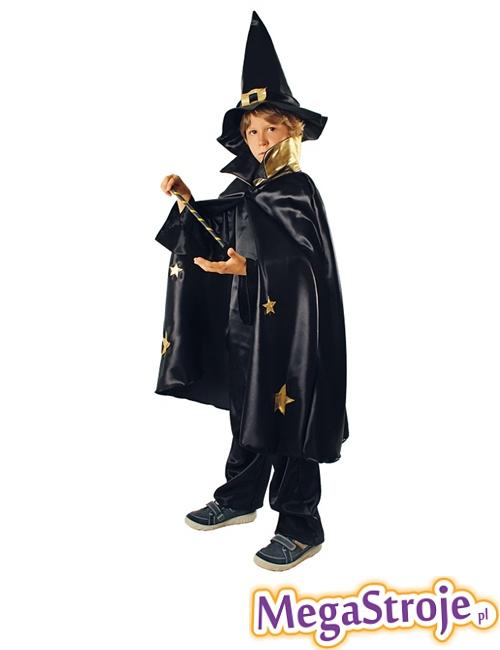 Kostium dziecięcy Czarodziej czarny