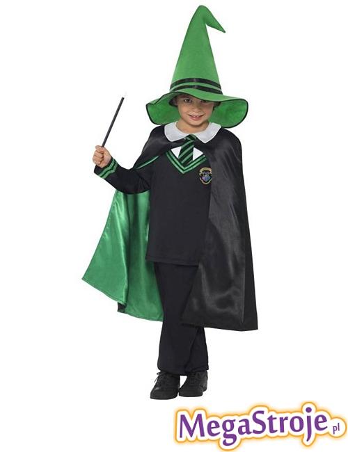 Kostium dziecięcy Czarodziej zielony