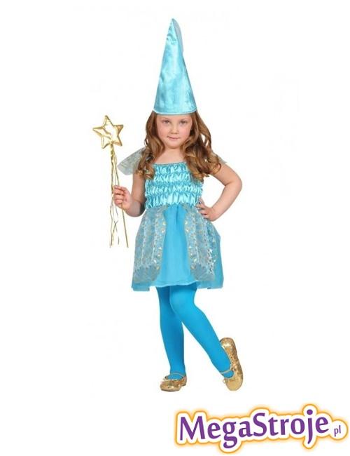 Kostium dziecięcy Czarodziejki niebieski