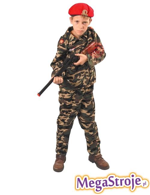 Kostium dziecięcy Czerwone Berety