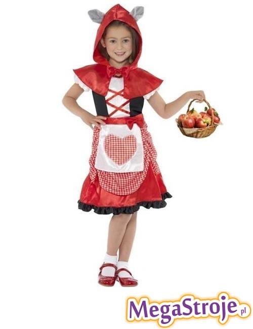 Kostium dziecięcy Czerwony Kapturek 2