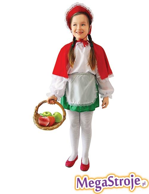 Kostium dziecięcy Czerwony Kapturek 3