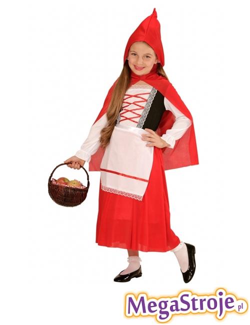 Kostium dziecięcy Czerwony Kapturek lux
