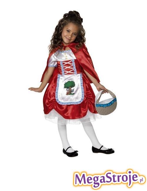 Kostium dziecięcy Czerwony Kapturek