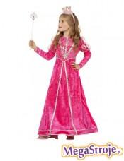 Kostium dziecięcy Dama dworu różowa