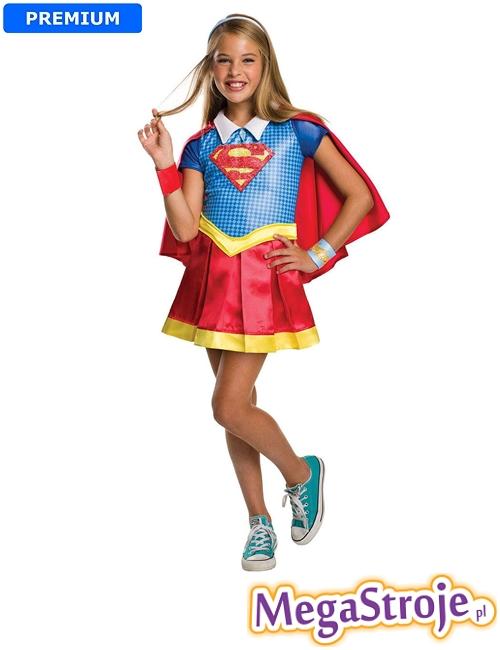 Kostium dziecięcy Dziewczyna Supermana