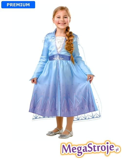 Kostium dziecięcy Elsa - Kraina Lodu 2