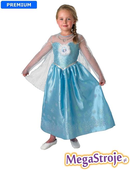 Kostium dziecięcy Elsa lux - Kraina Lodu