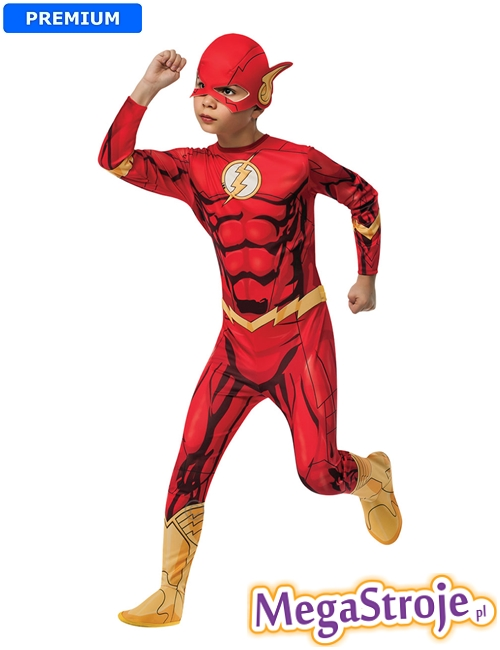 Kostium dziecięcy Flash lux