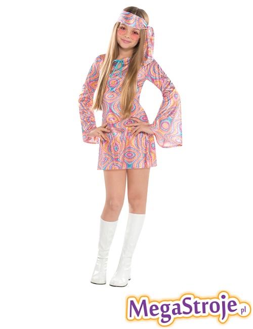 Kostium dziecięcy Hippie Girl